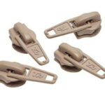 No.3 Beige Zip Pullers – 1 piece