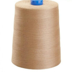 beige sewing thread