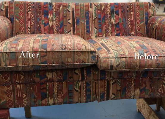sofa new foam cushions Edinburgh