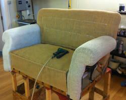 Re-Upholstery Sofa, East Saltoun