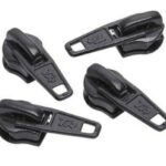 No.3 Black Zip Pullers – 1 piece