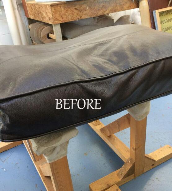 foam cushions before