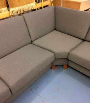 new foam cushions replace grey