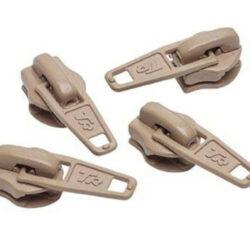 No.3 beige Zip Pullers