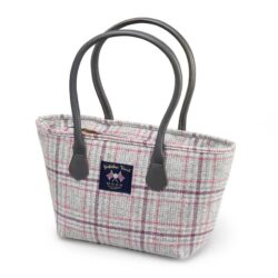 Bronte by Moon Tote Bag has been made in our Grey/Multi Check pattern